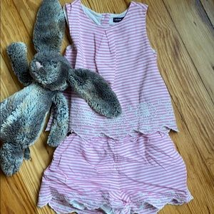 Adorable embroidered outfit!